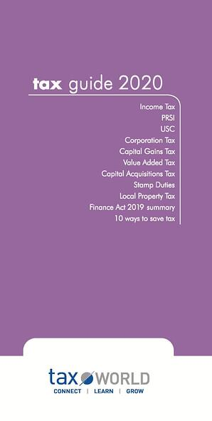 Tax Guide 2020 Cover Front-middle